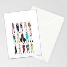 Retro Vintage Fashion 1 Stationery Cards