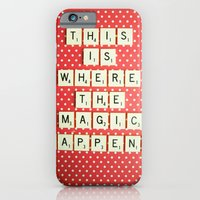 iPhone & iPod Case featuring This is Where The Magic Happens by happeemonkee