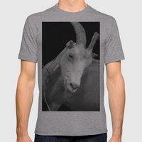 Black Goat Mens Fitted Tee Athletic Grey SMALL