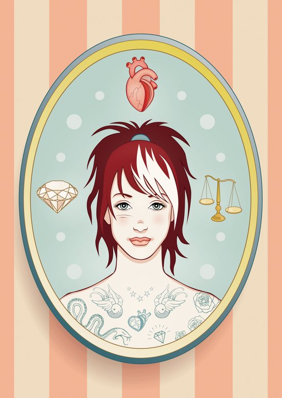 Truth, Love, Beauty Art Print