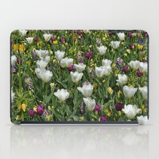 Blumen Beet  iPad Case