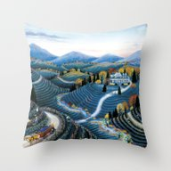 Hudson Valley By Kathy J… Throw Pillow