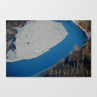 Scenic Flight Canvas Print