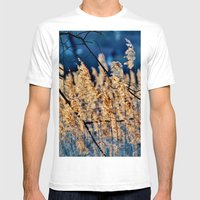 My blue reed dream - photography Mens Fitted Tee White SMALL