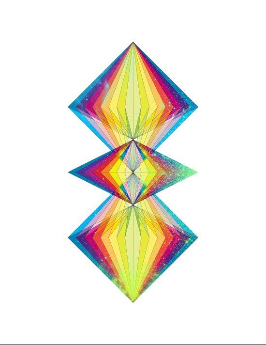Polarity Art Print