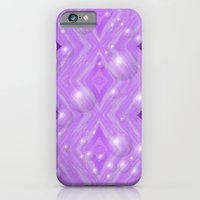 iPhone & iPod Case featuring Purple Pattern Merry christmas by Pink grapes