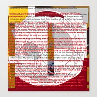 word pillow poems 01 Canvas Print