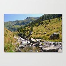 Mountain Landscape Canvas Print