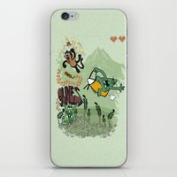 9 lives - game over iPhone & iPod Skin