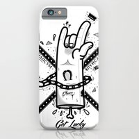 iPhone & iPod Case featuring Get lucky by Naniii