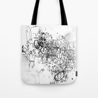 Dance With No Legs Tote Bag