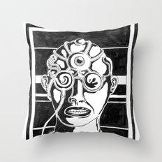 Mr. K - Mugshot Throw Pillow