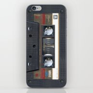 Cassette Gold iPhone & iPod Skin