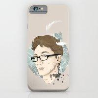 iPhone & iPod Case featuring Contact by Ann Van Haeken