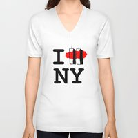 I love New York Unisex V-Neck