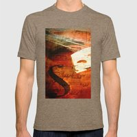 Suite Music Mens Fitted Tee Tri-Coffee SMALL