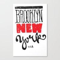 Brooklyn New York Canvas Print