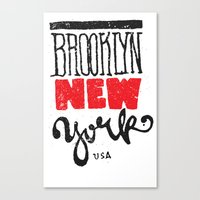 Brooklyn New York Canvas Print