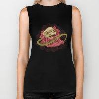 Skull N Roses Biker Tank