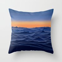 Day Breaks Throw Pillow