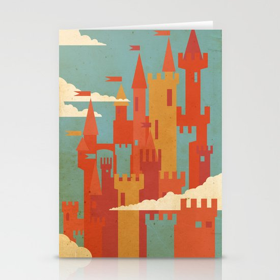 Castles  Stationery Card