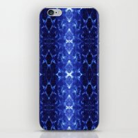 Ikat Shibori Blues iPhone & iPod Skin