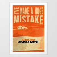 I've Made A HUGE Mistake… Art Print
