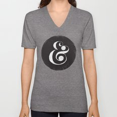 AMPERSAND Unisex V-Neck