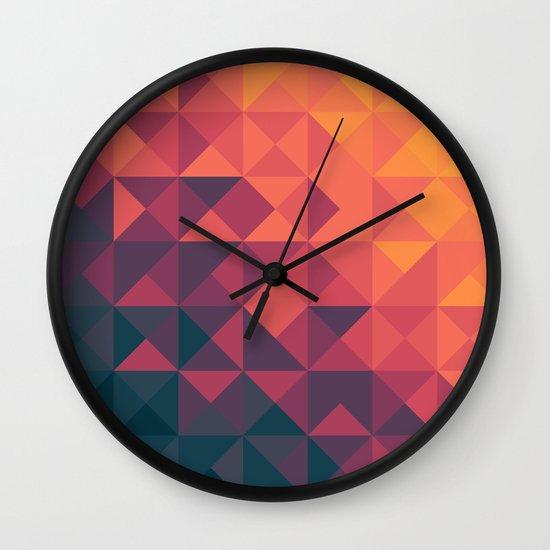 Infinity Twilight Wall Clock