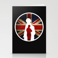 Queen and Country (Sherlock BBC) Stationery Cards