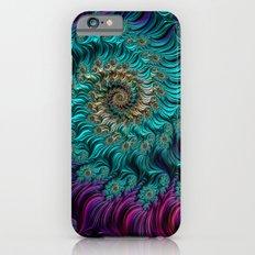 Aqua Swirl iPhone 6 Slim Case