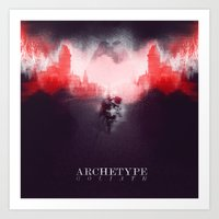 Archetype: Goliath Art Print