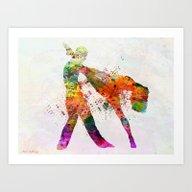 Dancing Queen 3 Art Print