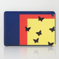 Butterfly Squares Paperc… iPad Case