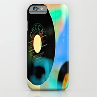 iPhone & iPod Case featuring Nothing Sounds Like Vinyl by Biff Rendar