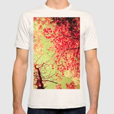 Color Drama II Mens Fitted Tee Natural SMALL