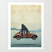 VW soup Art Print