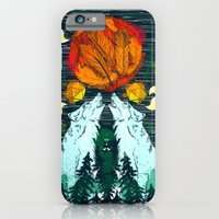 iPhone & iPod Case featuring Landscape by chobopop