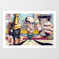 Art Print featuring My life at 30 by LocalMadMAn