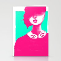 Contemporary Collar Stationery Cards