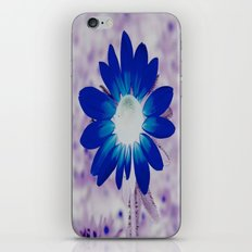 bolt of blue iPhone & iPod Skin