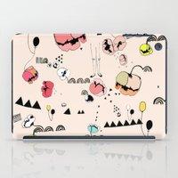 Poppies Print iPad Case