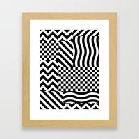 Dazzle 01 Framed Art Print