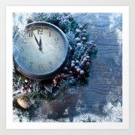 Winter Wonderland Frozen… Art Print