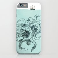 iPhone & iPod Case featuring Beast of the Deep by TheColorK