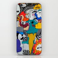 1 Araignée Au Plafond iPhone & iPod Skin