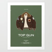 Dress The Part - Top Gun Art Print