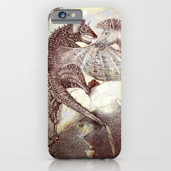Fight. iPhone & iPod Case