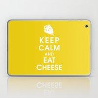 Keep Calm And Eat Cheese Laptop & iPad Skin