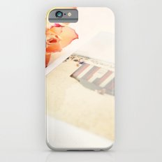 Rose and Polaroids Slim Case iPhone 6s